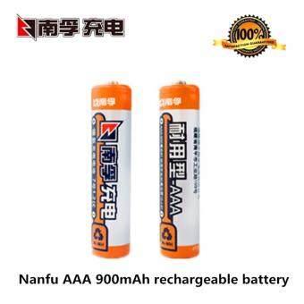 NF ถ่านชาร์จ AAA ถ่านไฟฉาย AAA NANFU 900mAh NiMH RechargeableBattery