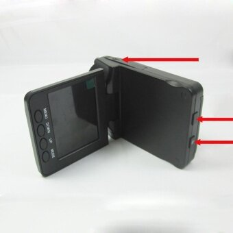 niceEshop F198 Car Dash DVR With Night Vision car cameras
