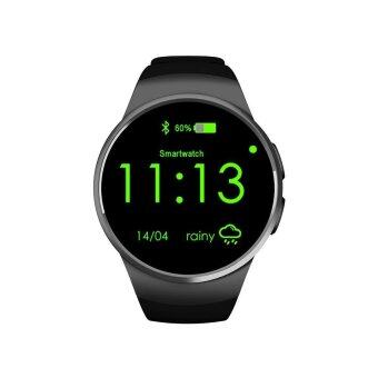 niceEshop KW18 All-in-1 Bluetooth Smart Watch Phones,Sim WristSmartwatches For IOS/Android Smartphones,Support SIM TF Card HeartRate Monitor - intl