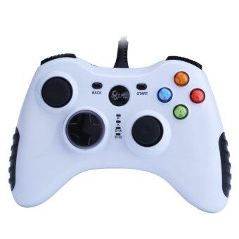 niceEshop Wired Game Controller for PC(Windows XP/7/8/10) &Android Devices (White)