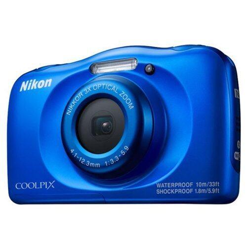 Nikon CoolPix W100 (สีน้ำเงิน)