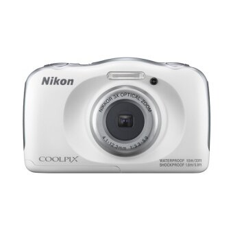 Nikon กล้องดิจิตอล รุ่น COOLPIX W100 (สีขาว)