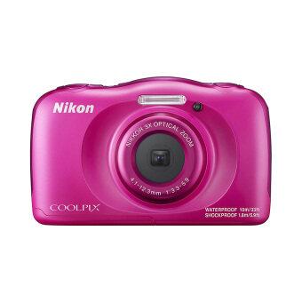 Nikon กล้องดิจิตอล รุ่น COOLPIX W100 (สีชมพู)