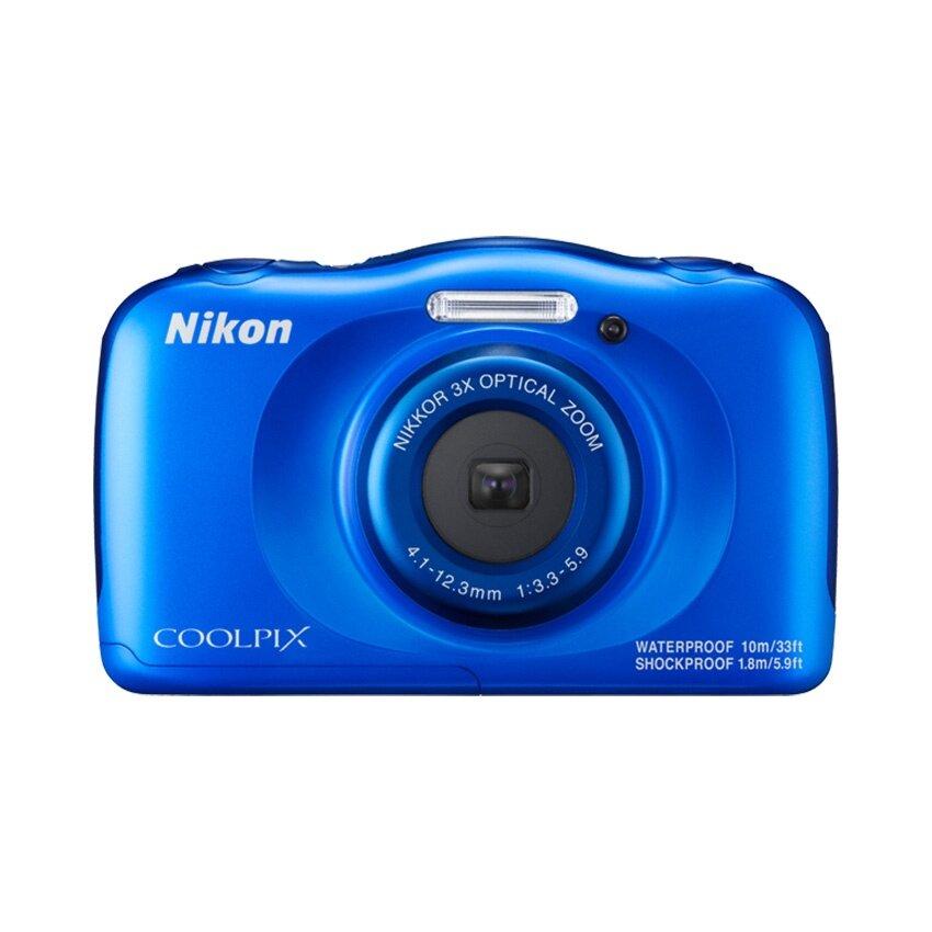 Nikon กล้องดิจิตอล รุ่น COOLPIX W100 (สีฟ้า)
