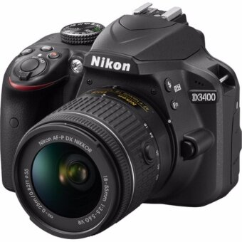 Nikon D3400 DSLR Camera with AF-P DX 18-55mm f/3.5-5.6G VR Lens - [Black] - intl