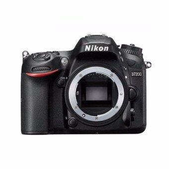 Nikon D7200 Body (Black)ฟรี SDHC 16 GB C10+กระเป๋า D2H Exclusive