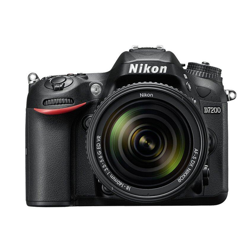 Nikon กล้อง DSLR D7200 พร้อมเลนส์ 18-200mm. (สีดำ)
