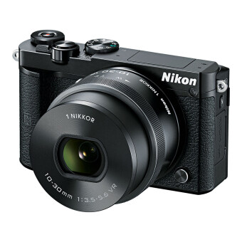 Nikon J5  lens 10-30mm. (Black) +  Micro SD 8GB class 10(ประกันศูนย์)