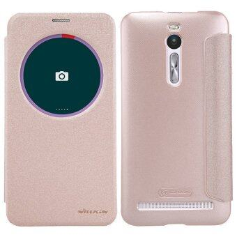 Nillkin เคส Asus Zenfone 2 Deluxe ZE551ML รุ่น Sparkle Leather CaseNILLKIN (สีทอง)