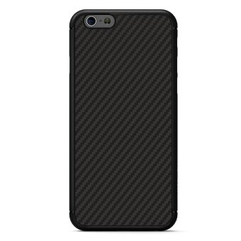 NILLKIN Synthetic Fiber Hard Case for iPhone 6s Plus / 6 Plus withHidden Iron Sheet - Black - intl