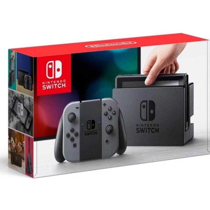 Nintendo Switch Gray JP support English