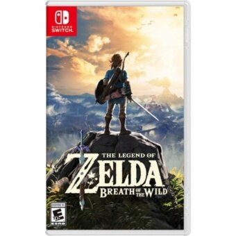 Harga nintendo switch zelda the legend of breath of the wild