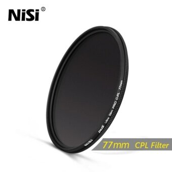 NiSi 77mm CPL Filter Dus Slim Professional Ultra Thin C-PL FiltersPolarizer Filter - intl