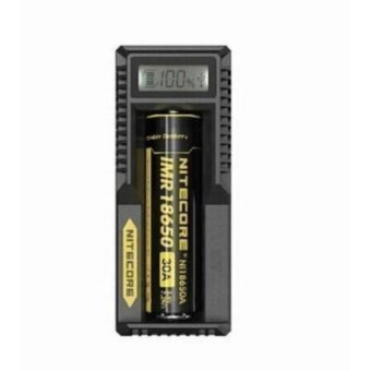 Nitecore UM10 1in LCD Lightweight Smart USB Li-ion Battery Charger(Black)