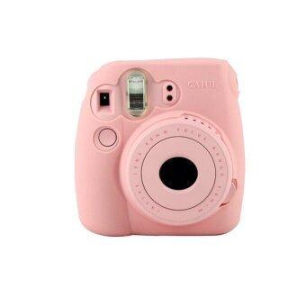 กล้องเคส Noctilucent สกินสำหรับ FUJIFILM Instax Mini8 Mini8s(สีชมพู)