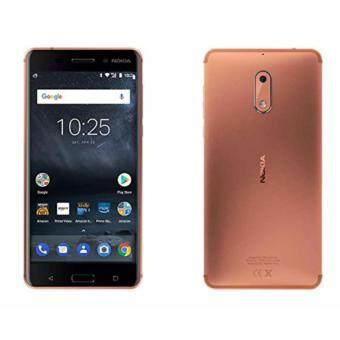 Nokia 6 -โนเกีย 4G - 5.5\Full HD/Ram 3GB/Rom 32GB/16MP/8MP/New 2017/Copper / ประกันศูนย์