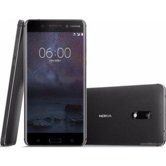 Nokia 6 -โนเกีย 4G - 5.5\Full HD/Ram 3GB/Rom 32GB/16MP/8MP/New 2017/ Black ประกันศูนย์