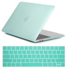 NORTHJO 2 in 1 Rubberized Protective Matte Hard Shell Case and Keyboard Cover for Apple Macbook