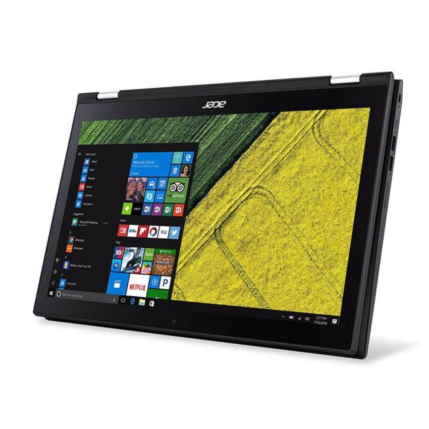 โน็ตบุ๊ค Notebook Acer Spin SP315-51-52EF-Shale Black(i5-7200U,4Gb,500Gb,Win10,15.6)NX.GK9ST.006 มีโปรแกรมพร้อมใช้งาน
