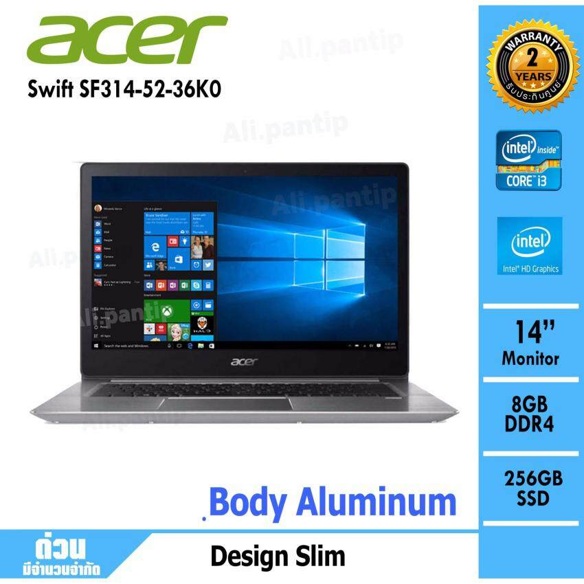 Notebook Acer Swift SF314-52-36K0 (Silver)