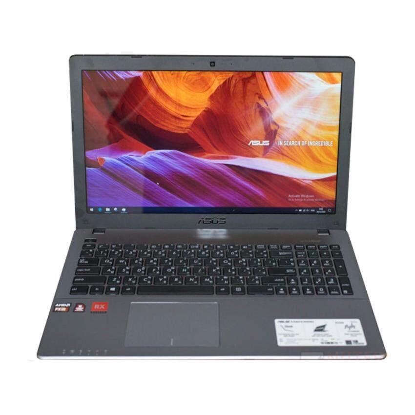 NOTEBOOK ASUS K550IU-GO071D FX-9830P 8GB DDR4 1TB RX460 (Polaris 11) 4GB DOS GRAY