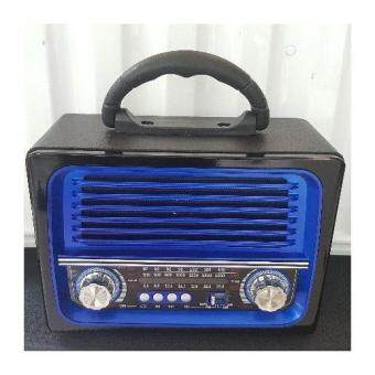 วิทยุคลาสสิค ย้อนยุค NS-1383BTมี Bluetooth / FM / AM / USB MP3 / Micro SD card