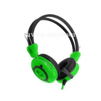 NUBWO Headphone หูฟังเกมส์มิ่งและฟังเพลง รุ่น NO-029 (สีเขียว)Green