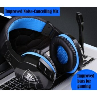 ราคา NUWBO Headphone No-3000 หูฟังเกมมิ่ง