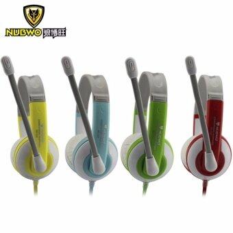ราคา NUWBO Headphone No-520หูฟังเกมมิ่ง