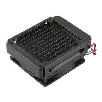 OH 120mm Water Cooling CPU Cooler Row Heat Exchanger Radiator with Fan for PC