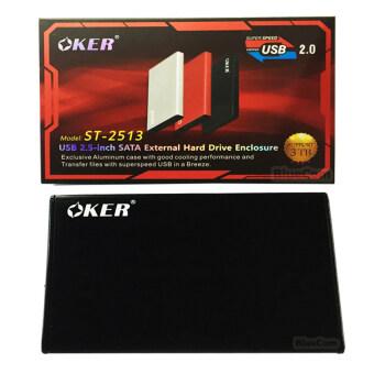 รีวิว OKER BOX Hard Drive ST-2513 USB 2.0 / 2.5 SATA External Hard DriveEnclosure กล่องใส่ฮาร์ดดิส (Black)