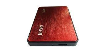 "OKER Box HDD OKER 2.5-inch"" USB 3.0 HDD External Enclosure รุ่นST-2532 (red)"