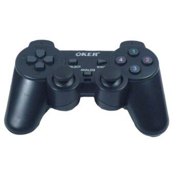 OKER Gaming Joy Stick for PC Analog รุ่น U-706 (Black)