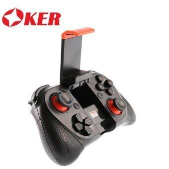 OKER จอยเกมส์ JoyStic Bluetooth Gamepad รุ่น BT-050(สีดำ)