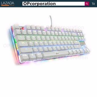 oker คีย์บอร์ดสำหรับเกม MAGIC RGBmechanical Keyboard k88