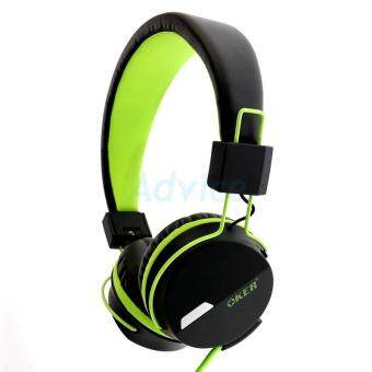 ซื้อ/ขาย OKER Speaker HeadSet SM-852 (Black/Green)
