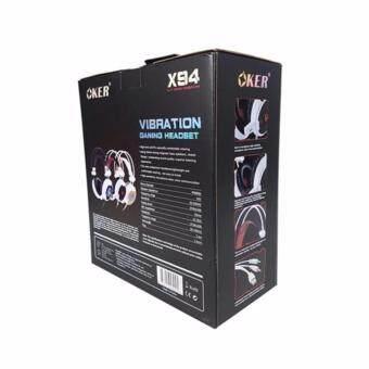 Oker หูฟังเกมมิ่ง Vibration Hi-Fi stereo headphone Gaming Headsetรุ่น X94 - 3