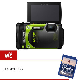 Olympus STYLUS TG-870 Tough 16MP(Green) แถมฟรี SD card 4 GB