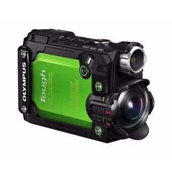 Olympus Stylus Tough TG-Tracker 4K Waterproof Action Camera - [Green] - intl