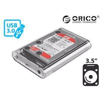 ORICO 3139U3 3.5 inch Transparent HDD Enclosure Case USB 3.0