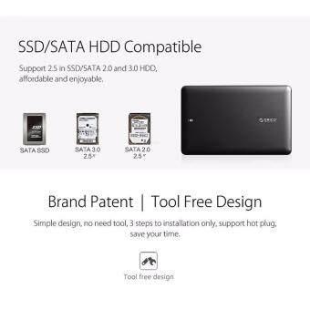 Orico กล่องใส่ HDD SSD USB 3.0 SATA พกพา