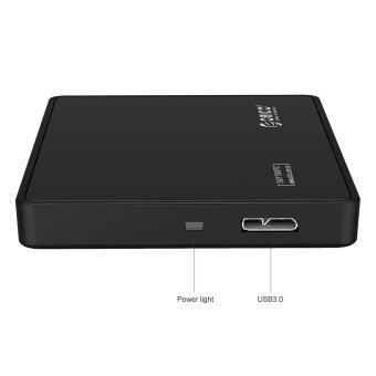 ORICO Tool-free 2.5 Inch USB 3.0 Hard Drive Disk HDD ExternalEnclosure Case for 9.5mm 7mm 2.5 SATA HDD and SSD-Black - Intl