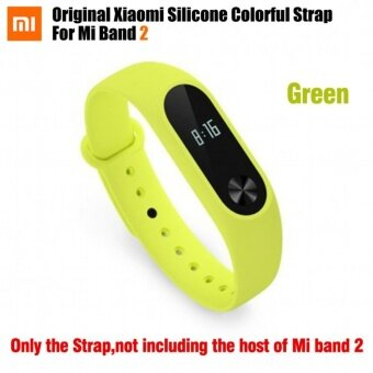 Original Colorful Xiaomi Mi Band 2 Strap Mi Band 2 BraceletAccessories Replaceable Band Silicone Wristband For Xiaomi Band 2 -intl