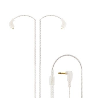 Original KZ ZST Cable 2pin 0.75 mm Upgraded Silver Plated CableEarphone Upgrade Cable for KZ earphone KZ ZST - intl