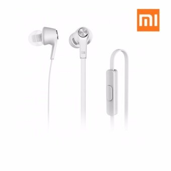 Original Mi Xiaomi Basic Piston Earphone In-Ear With Mic-แท้ (สีขาว)