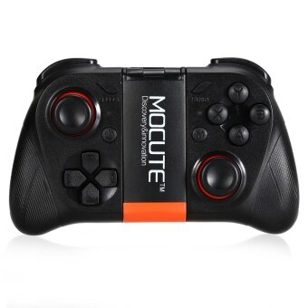 Original MOCUTE 050 Wireless Bluetooth Gamepad PC Game Controllerfor Smartphone TV Box with Built-in Foldalbe Holder Joystick - intl