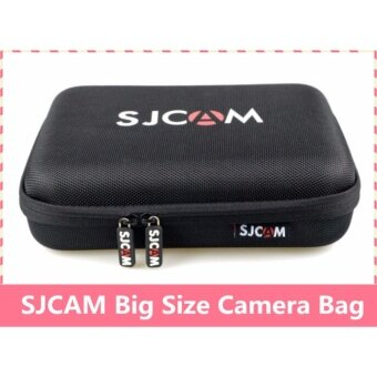 (ORIGINAL) SJCAM Action Camera Protective Travel Case Carry Bag Water Resistant (Large Bag) 22.5 cm