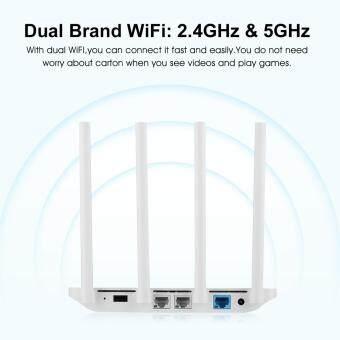 Original Xiaomi Mi WiFi Router 3 128MB ROM 1167Mbps 2.4/5GHz with 4Antennas(White) - intl - 4