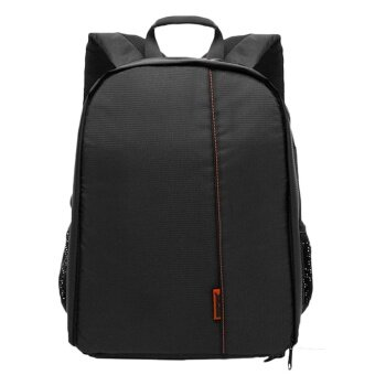 Outdoor Hiking Travel Camping Portable Digital DSLR SLR Camera Storage Double Shoulder Bag Case Backpack with Rain Cover - intl