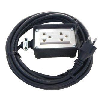 ซื้อ/ขาย Panasonic ปลั๊กไฟพ่วง พร้อมบล็อคยางกันกระแทก พร้อมสาย 2 x 1 mm.ยาว 30 เมตร
